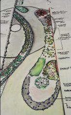 Tuinontwerp KTT smalle achtertuin